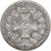 1 Conventionsthaler - Ludwig I (St. Michael – reverse