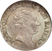 3 Kreuzer - Maximilian I Joseph – obverse