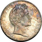 2 Thaler / 3½ Gulden - Ludwig I (Walhalla) – obverse