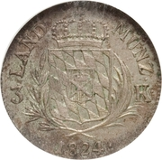 3 Kreuzer - Maximilian I Joseph – reverse