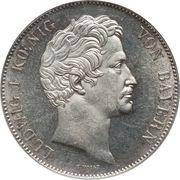 2 Thaler / 3½ Gulden - Ludwig I – obverse