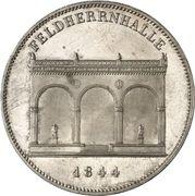 2 Thaler / 3½ Gulden - Ludwig I (Feldherrenhalle) – reverse