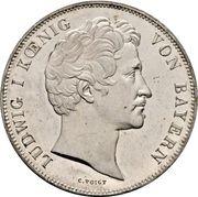 2 Thaler / 3½ Gulden - Ludwig I (Chancellor Baron von Kreittmayr) – obverse