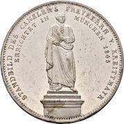 2 Thaler / 3½ Gulden - Ludwig I (Chancellor Baron von Kreittmayr) – reverse