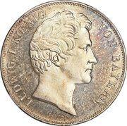 2 Thaler / 3½ Gulden - Ludwig I (Birth of Two Grandsons) – obverse