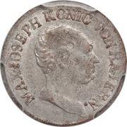 1 Kreuzer - Maximilian I Joseph – obverse