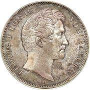 2 Thaler / 3½ Gulden - Ludwig I (Bishop Julius Echter von Mespelbrunn) – obverse