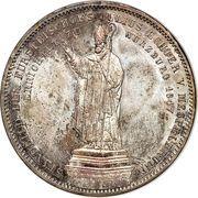 2 Thaler / 3½ Gulden - Ludwig I (Bishop Julius Echter von Mespelbrunn) – reverse