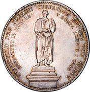 2 Thaler / 3½ Gulden - Maximilian II (Johann Christoph von Gluck) – reverse