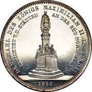 2 Thaler / 3½ Gulden - Maximilian II (Monument) – reverse