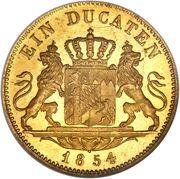 1 Ducat - Maximilian II (Trade Coinage) – reverse