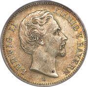 2 Mark - Ludwig II – obverse