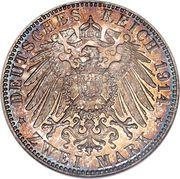 2 Mark - Ludwig III – reverse