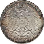 3 Mark - Ludwig III – reverse