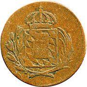 1 Kreuzer - Maximilian I Joseph (Occupation of Tyrol) – obverse