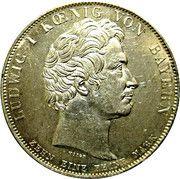 1 Conventionsthaler - Ludwig I (Geschichtstaler; Mortgage Bank) – obverse