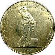 1 Conventionsthaler - Ludwig I (Geschichtstaler; Mortgage Bank) – reverse