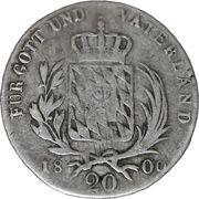 20 Conventonskreuzer - Maximillian IV Joseph – reverse