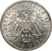 5 Mark - Otto Prince Regent Luitpold – reverse