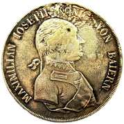 1 Conventionsthaler - Maximilian I Joseph (Königstaler) – obverse