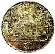 1 Conventionsthaler - Maximilian I Joseph (Königstaler) – reverse