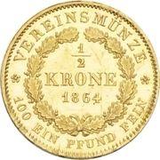 ½ Krone - Maximilian II. – reverse