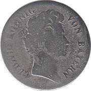 6 Kreuzer - Ludwig I – obverse