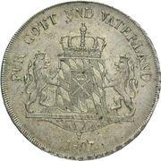 1 Conventionsthaler - Maximilian I Joseph – reverse