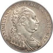 1 Conventionsthaler - Maximilian Joseph (Bavarian Constitution) – obverse