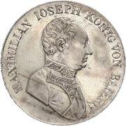 1 Conventionsthaler - Maximilian I Joseph – obverse