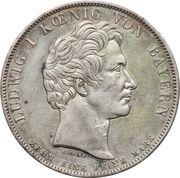 1 Conventionsthaler - Ludwig I (Geschichtstaler; Order of Ludwig) – obverse
