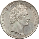 1 Conventionsthaler - Ludwig I (Geschichtstaler; Blessing of Heaven) – obverse