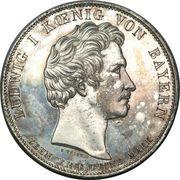 1 Conventionsthaler - Ludwig I (Geschichtstaler; Opening of Legislature) – obverse