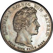 1 Conventionsthaler - Ludwig I (Geschichtstaler; Customs Union) – obverse