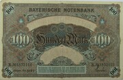 100 Mark (Bayerische Notenbank) – reverse