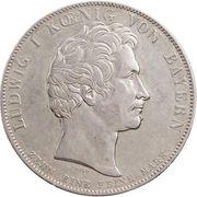 1 Thaler - Ludwig I (Geschichtstaler) – obverse