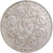 1 Thaler - Ludwig I (Geschichtstaler) – reverse