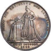 1 Taler - Ludwig I (Geschichtstaler) – reverse