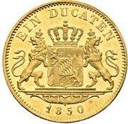 1 Ducat - Maximilian II (Mule) – reverse