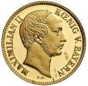 1 Ducat - Maximilian II (Goldkronach-Dukat) – obverse