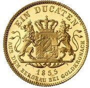1 Ducat - Maximilian II (Goldkronach-Dukat) – reverse