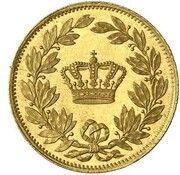 1 Ducat - Ludwig II (Geschenk-Dukat) – reverse