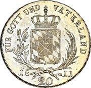 20 Kreuzer - Maximilian I Joseph – reverse