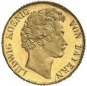 3 Kreuzer - Ludwig I (Gold Pattern) – obverse