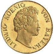 1 Kreuzer - Ludwig I (Gold Pattern) – obverse