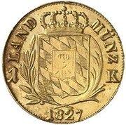1 Kreuzer - Ludwig I (Gold Pattern) – reverse