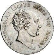 ½ Thaler - Maximilian I Joseph (Schulpreistaler) – obverse