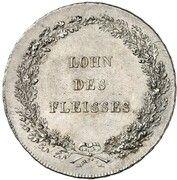 ½ Thaler - Maximilian I Joseph (Schulpreistaler) – reverse