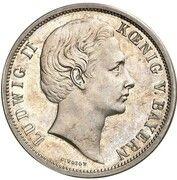 5 Mark - Ludwig II (Pattern) – obverse