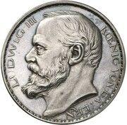 3 Mark - Ludwig III (Pattern) – obverse